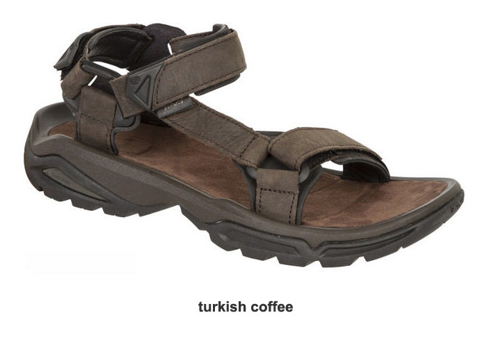 a7a6c40b0510ad ... Teva Terra Fi 4 Leather Men s Walking Sandal Size 13 ...